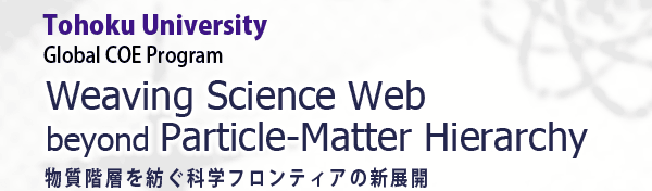 Weaving Science Web beyond Particle-Matter Hierarchy